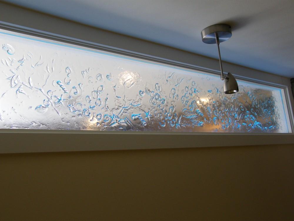 verre fusion éclairage LED.Lévis