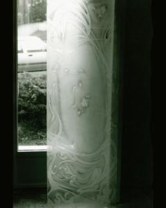 Fenêtre verre latéral d'entrée