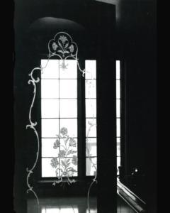 verre de porte motifs provencal