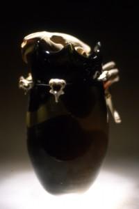 vase tête de castor