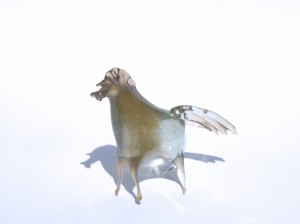 cheval verre souffle
