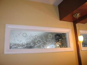 fenêtre décorative