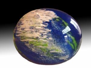 presse papier  planète