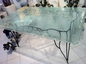 table manger verre fusion