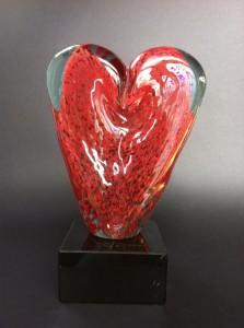 trophée coeur