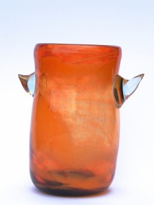 Vase à corne