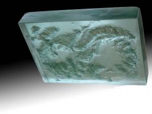 Bloc de verre 2''