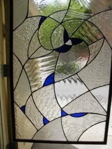 vitrail monochrome